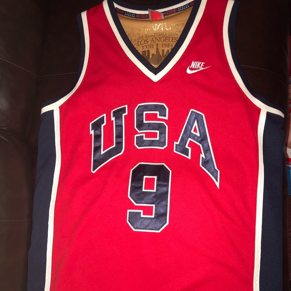 best service b3335 d742c Michael Jordan Olympic jersey